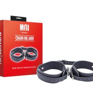 Chain Me Arm | Arm Cuffs - Width 4 cm. (1.57 inch) Length 34.5 cm. (14.38 inch)