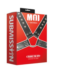 X Marks The Spot | Man's Body Harness - One Size - Adjustable