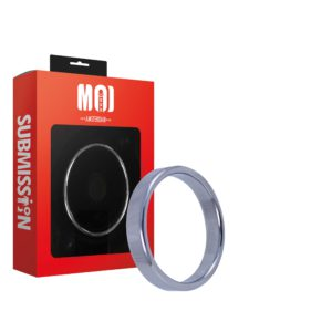 Mr. Thready 55   Stainless Steel Cock Ring - Thickness 4.5 mm. Heigth 11.6 mm. Ø 55 mm.