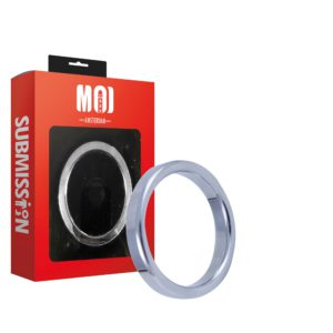 Mr. Pristine 45   Stainless Steel Cock Ring - Thickness 6 mm. Heigth 12 mm. Ø 45 mm.